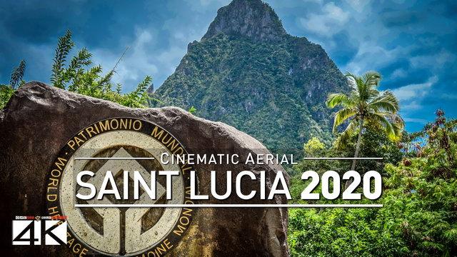 4K Drone Footage SAINT-LUCIA [DJI Phantom 4]