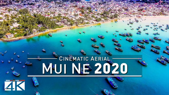 【4K】Drone Footage | Mui Ne - VIETNAM 2019 ..:: Birds View | Aerial Film
