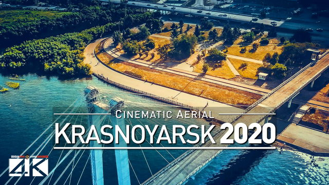 【4K】Drone Footage | Krasnoyarsk - The Jewel of Siberia | RUSSIA 2019 ..:: Aerial Film | Красноя́рск