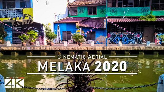 【4K】Drone Footage | Malacca City - Truly Asia | MALAYSIA 2019 ..:: Melaka Birds View | Aerial Film