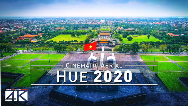 【4K】Drone Footage | Hue - The Imperial City | VIETNAM 2019 ..:: Huế Birds View | Aerial Film