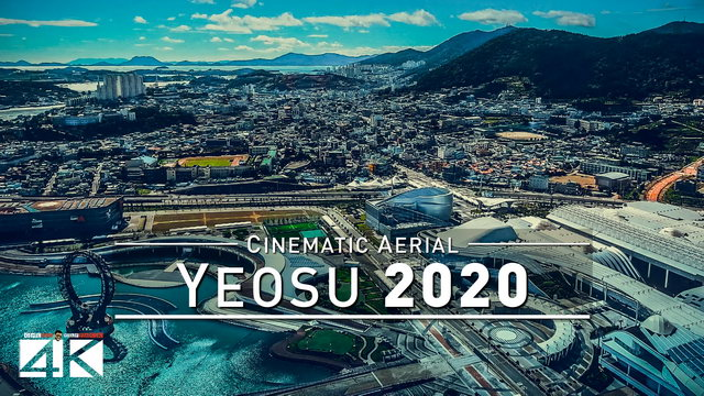【4K】Drone Footage | Yeosu - SOUTH KOREA 2019 ..:: Cinematic Aerial Film