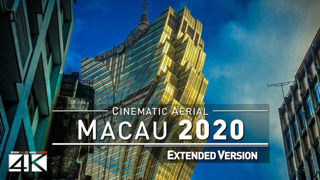 【4K】Drone Footage | Macau - Las Vegas of Asia 2019 ..:: Cinematic Aerial Film