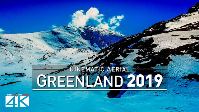 【4K】Drone Footage | How beautiful is Greenland ..:: Cinematic Aerial Film