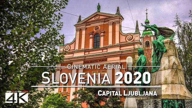 【4K】Drone Footage | Ljubljana - SLOVENIA 2019 ..:: Cinematic Aerial Film