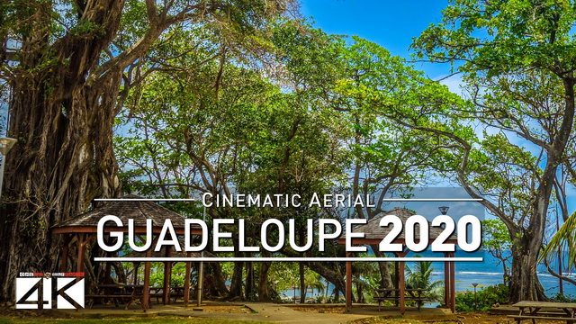 【4K】Drone Footage | Guadeloupe - Caribbean at its Best 2019 ..:: Cinematic Aerial Film | 267