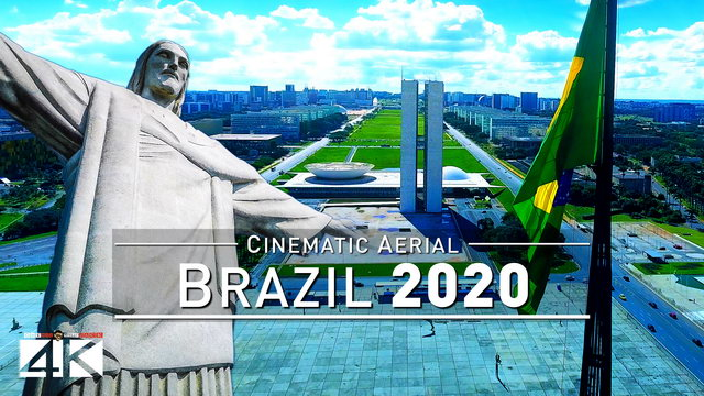【4K】Drone Footage | BRAZIL - A country like no other..:: Cinematic Aerial Film | Brasil 2019