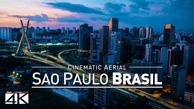 4K Drone Footage SAO-PAULO [DJI Phantom 4]