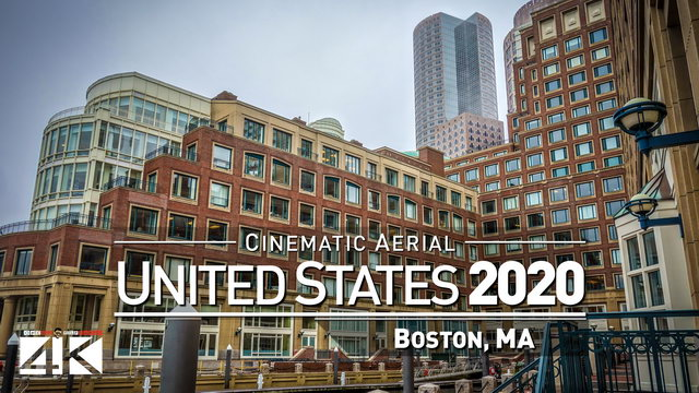 【4K】Drone Footage | Boston, Massachusetts - UNITED STATES 2019 ..:: Cinematic Aerial Film | 271