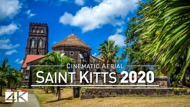 【4K】Drone Footage | Saint Kitts and Nevis - Follow your Heart 2019 ..:: Cinematic Aerial Film