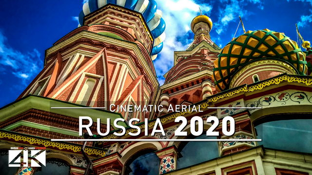 【4K】Drone Footage | A journey through RUSSIA - Largest Country of Earth 2019 | Cinematic Aerial Film