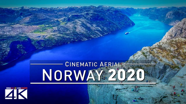 【4K】Drone Footage | NORWAY - Powered by Nature 2019 ..:: Cinematic Aerial Film | 274
