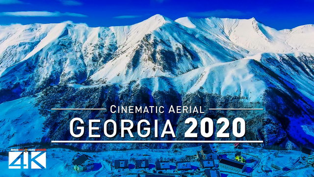 【4K】Drone Footage | GEORGIA - The New Star in Caucasus 2019 ..:: Cinematic Aerial Film | 275