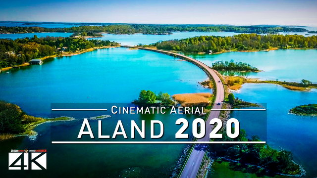 【4K】Drone Footage | The Stunning ÅLAND ISLANDS ..:: Cinematic Aerial Film | Aland 2019