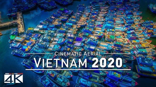 【4K】Drone Footage | The Timeless Charm of Vietnam 2019 ..:: Cinematic Aerial Film | 277