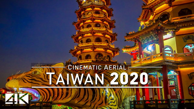 【4K】Drone Footage | Falling in love with TAIWAN - Ilha Formosa 2019 ..:: Cinematic Aerial Film