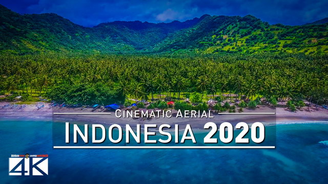 【4K】Drone Footage | Wonderful Indonesia - Bali, Lombok & More 2019 ..:: Cinematic Aerial Film | 281