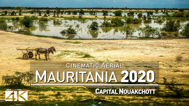 【4K】Drone Footage | Visiting West Africa - MAURITANIA 2019 ..:: Cinematic Aerial Film