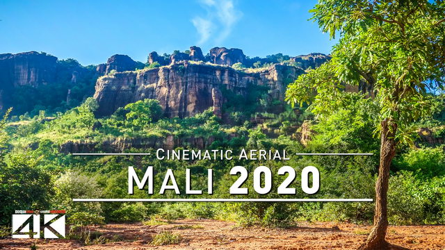 【4K】Drone Footage | Visiting West Africa - MALI 2019 ..:: Cinematic Aerial Film | 284