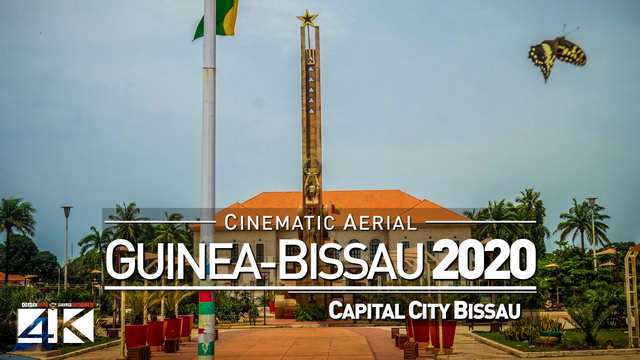 【4K】Drone Footage | Visiting West Africa - GUINEA-BISSAU 2019 ..:: Cinematic Aerial Film