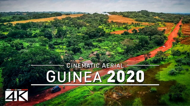 【4K】Drone Footage | Visiting West Africa - GUINEA 2019 ..:: Cinematic Aerial Film | Conakry + Tanene | 286