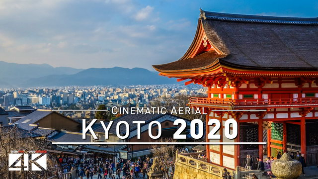 【4K】Drone Footage | KYOTO - Awesome Japan..:: Cinematic Aerial Film | 京都 日本 2019