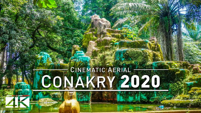 【4K】Drone Footage   CONAKRY - Capital of Guinea 2019 ..:: Cinematic Aerial Film