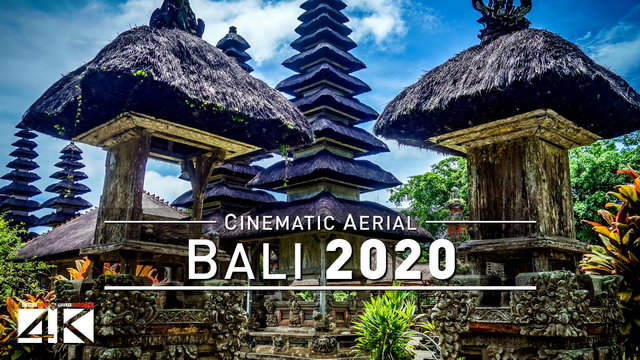 【4K】Drone Footage | Beautiful Bali - Indonesia 2019 ..:: Cinematic Aerial Film
