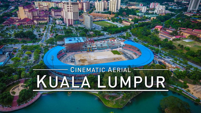 Drone Flight KUALA LUMPUR [DJI Phantom 4] Taman Tasik Permaisuri @1080p