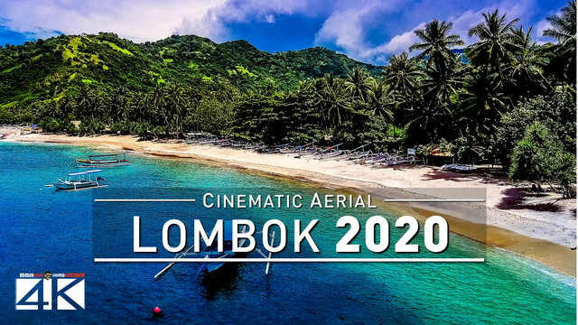 【4K】Drone Footage | Lombok - Wonderful Indonesia 2019 ..:: Cinematic Aerial Film