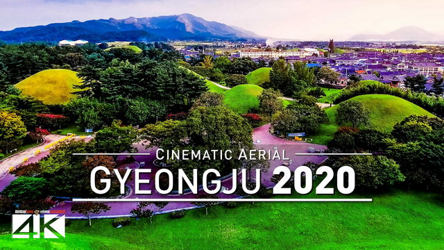 【4K】Drone Footage | Gyeongju - Ancient Capital South Korea ..:: Cinematic Aerial Film | 경주 2019 대한민국