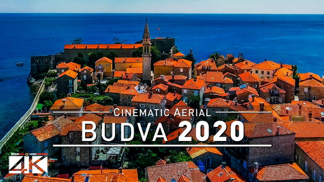 【4K】Drone Footage | Budva - Medieval Old Town at Montenegros Adria 2019 ..:: Cinematic Aerial Film