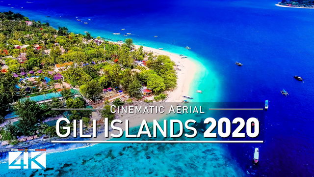 【4K】Drone Footage | Gili Air - Wonderful Indonesia 2019 ..:: Cinematic Aerial Film | Gili Islands