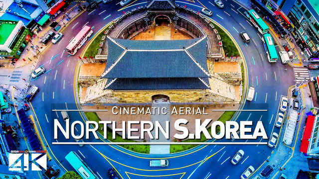 【4K】Drone Footage | The North of South Korea - Suwon | Incheon | Asan .: Cinematic Aerial 대한민국 2019