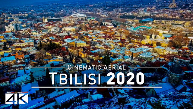 【4K】Drone Footage | Tbilisi - Capital of Georgia .: Cinematic Aerial Film | თბილისი 2019 საქართველო