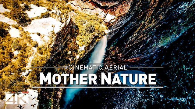 【4K】Drone Footage | Mother Nature - Six Continents | One Drone .: Cinematic Aerial Film | Earth 2019