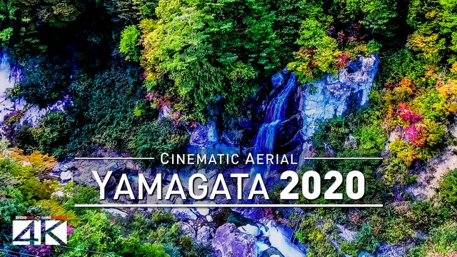 【4K】Drone Footage | Kaminoyama Castle - Nature of Japan 2019 ..:: Cinematic Aerial | 山形県 Yamagata 日本