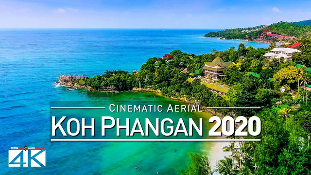 【4K】Drone Footage | Koh Phangan - Paradise of Thailand 2019 | Cinematic Aerial | เกาะพะง้น ประเทศไทย