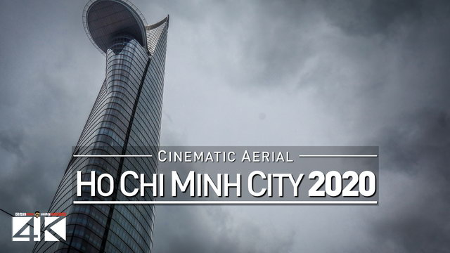 4K Drone Footage HO-CHI-MINH-CITY [DJI Phantom 4]