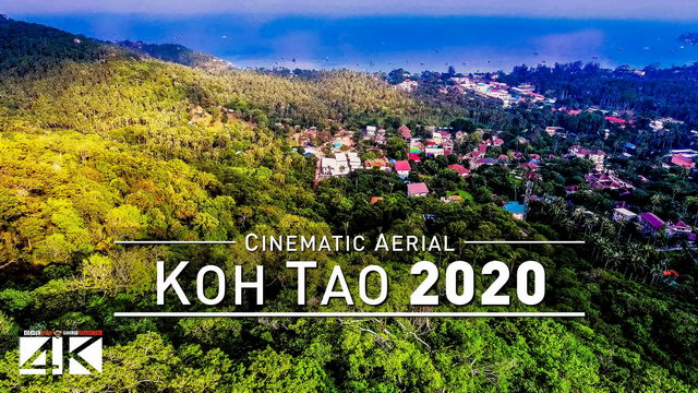 【4K】Drone Footage | Koh Tao - Thailands Piece of Heaven 2019 ..:: Cinematic Aerial Film | เกาะเต่า