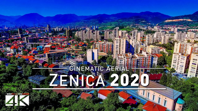 【4K】Drone Footage | Zenica - City at the Bosnia River 2019 ..:: Cinematic Aerial Film | Herzegovina