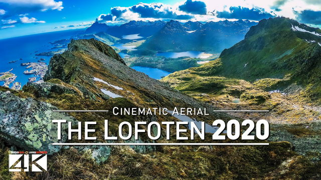 【4K】Drone Footage | The incredible Lofoten Archipelago - NORWAY 2019 .: Cinematic Nature Aerial Film