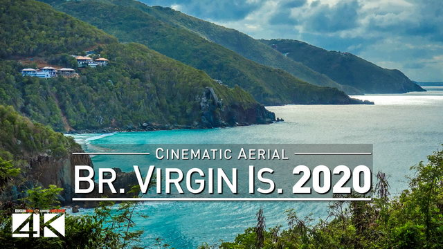 【4K】Drone Footage | British Virgin Islands - Caribbeans Finest BVI 2019 ..:: Cinematic Aerial Film | 327