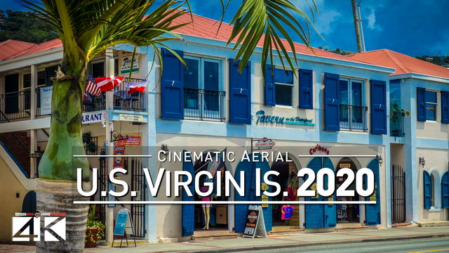 【4K】Drone Footage | U.S. Virgin Islands - Caribbeans Findest USVI 2019 | Cinematic Aerial St. Thomas | 328