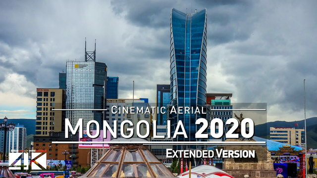 【4K】Drone Footage | Ulanbaatar - Capital of Mongolia 2019 ..:: Cinematic Aerial Film | Ulan Bator | 329