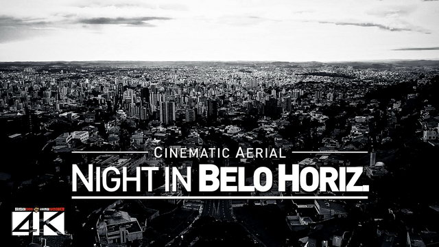【4K】Drone Footage | Belo Horizonte by NIGHT - Brazil 2019 ..:: Cinematic Aerial Film | Praca do Papa
