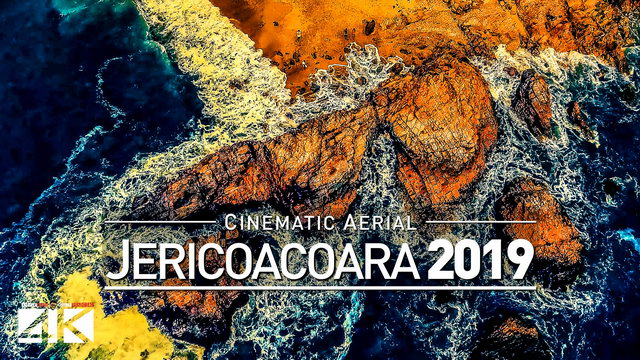 【4K】Drone Footage | Jericoacoara SUNSET - Brazil 2019 ..:: Cinematic Aerial Film | Jeri Beach Ceará