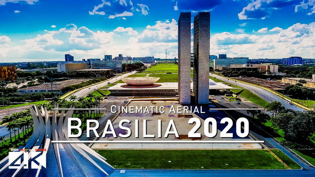 【4K】Drone Footage | Brasilia - Capital of Brazil 2019 .:: Cinematic Aerial Film | Catedral Garrincha