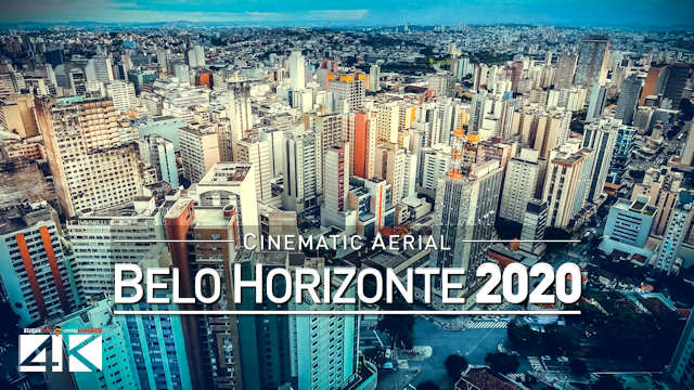 【4K】Drone Footage | Belo Horizonte - Capital of Minas Gerais | BRAZIL 2019 .:: Cinematic Aerial Film