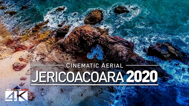【4K】Drone Footage | Jericoacoara in 10 Minutes 2019 | Ceará, BRAZIL ..:: Cinematic Aerial Beach Film